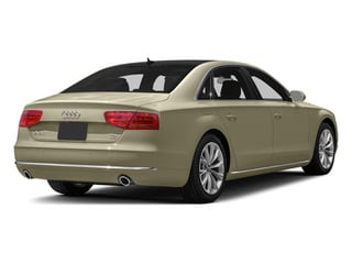 Savana Beige Pearl 2013 Audi A8 L Pictures A8 L Sedan 4D 6.3 L AWD W12 photos rear view