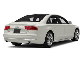 Ibis White 2013 Audi A8 L Pictures A8 L Sedan 4D 3.0T L AWD V6 Turbo photos rear view