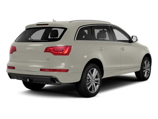 Ice Silver Metallic 2013 Audi Q7 Pictures Q7 Utility 4D 3.0 TDI Prestige S-Line A photos rear view