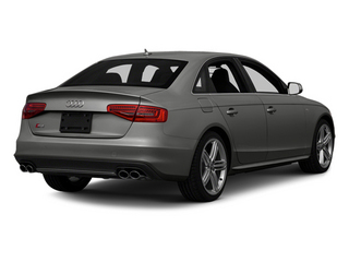 Monsoon Gray Metallic 2013 Audi S4 Pictures S4 Sedan 4D S4 Prestige AWD photos rear view
