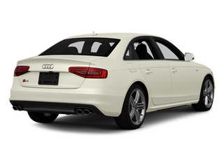 Glacier White Metallic 2013 Audi S4 Pictures S4 Sedan 4D S4 Prestige AWD photos rear view