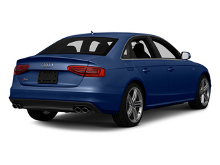Estoril Blue Crystal 2013 Audi S4 Pictures S4 Sedan 4D S4 Prestige AWD photos rear view
