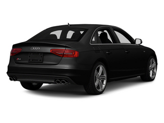 Phantom Black Pearl 2013 Audi S4 Pictures S4 Sedan 4D S4 Prestige AWD photos rear view