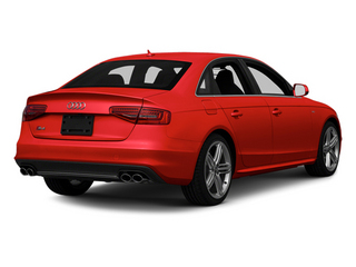 Misano Red Pearl 2013 Audi S4 Pictures S4 Sedan 4D S4 Prestige AWD photos rear view