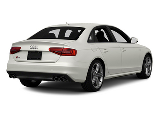 Ibis White 2013 Audi S4 Pictures S4 Sedan 4D S4 Prestige AWD photos rear view