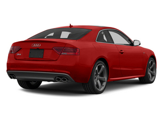 Volcano Red Metallic 2013 Audi S5 Pictures S5 Coupe 2D S5 Prestige AWD photos rear view