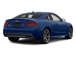 Estoril Blue Crystal 2013 Audi S5 Pictures S5 Coupe 2D S5 Prestige AWD photos rear view