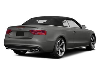Monsoon Gray Metallic 2013 Audi S5 Pictures S5 Convertible 2D S5 Prestige AWD photos rear view