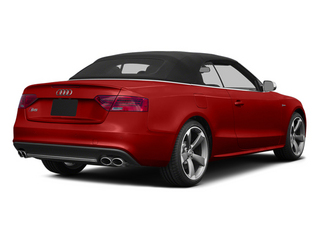 Volcano Red Metallic 2013 Audi S5 Pictures S5 Convertible 2D S5 Prestige AWD photos rear view