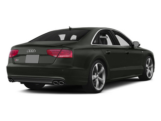 Daytona Gray Pearl 2013 Audi S8 Pictures S8 Sedan 4D S8 AWD photos rear view