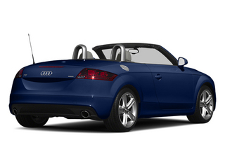 Scuba Blue Metallic 2013 Audi TT Pictures TT Roadster 2D Prestige AWD photos rear view