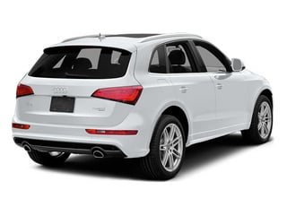 Arctic Silver Metallic 2013 Audi Q5 Pictures Q5 Utility 4D 2.0T Prestige AWD Hybrid photos rear view