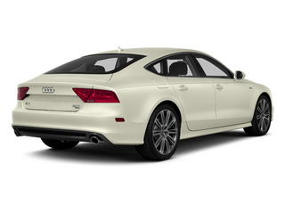 Glacier White Metallic 2013 Audi A7 Pictures A7 Sedan 4D 3.0T Premium Plus AWD photos rear view