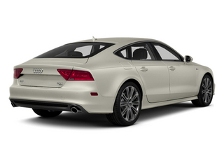 Ice Silver Metallic 2013 Audi A7 Pictures A7 Sedan 4D 3.0T Premium Plus AWD photos rear view