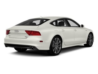 Ibis White 2013 Audi A7 Pictures A7 Sedan 4D 3.0T Premium Plus AWD photos rear view