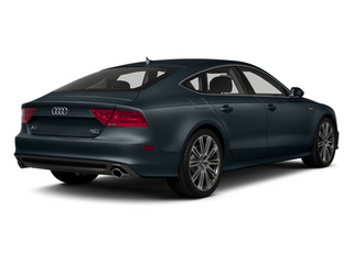 Moonlight Blue Metallic 2013 Audi A7 Pictures A7 Sedan 4D 3.0T Premium Plus AWD photos rear view