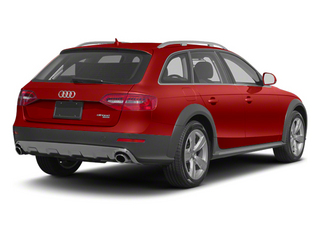 Volcano Red Metallic 2013 Audi allroad Pictures allroad Wagon 4D Premium AWD photos rear view