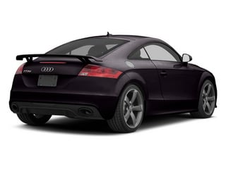 Panther Black Crystal 2013 Audi TT RS Pictures TT RS Coupe 2D RS AWD photos rear view