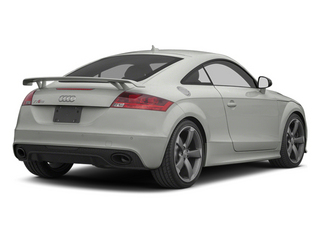 Suzuka Gray Metallic 2013 Audi TT RS Pictures TT RS Coupe 2D RS AWD photos rear view
