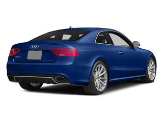 Sepang Blue Pearl 2013 Audi RS 5 Pictures RS 5 Coupe 2D RS5 AWD V8 photos rear view
