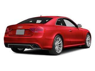 Misano Red Pearl 2013 Audi RS 5 Pictures RS 5 Coupe 2D RS5 AWD V8 photos rear view