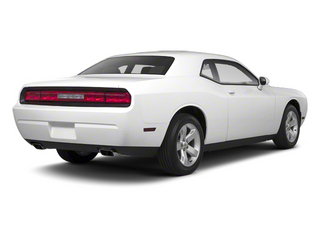 Bright White 2013 Dodge Challenger Pictures Challenger Coupe 2D SRT-8 Core V8 photos rear view