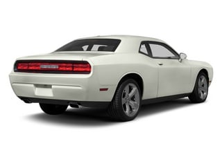 Bright White 2013 Dodge Challenger Pictures Challenger Coupe 2D R/T V8 photos rear view