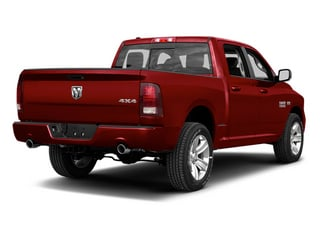 Deep Cherry Red Crystal Pearl 2013 Ram Truck 1500 Pictures 1500 Crew Cab Express 2WD photos rear view