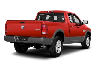 Flame Red 2013 Ram 1500 Pictures 1500 Quad Cab Sport 4WD photos rear view