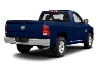 True Blue Pearl 2013 Ram Truck 1500 Pictures 1500 Regular Cab HFE 2WD photos rear view