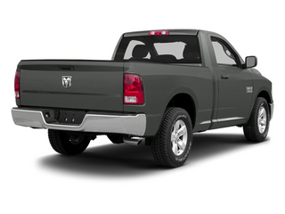 Mineral Gray Metallic 2013 Ram Truck 1500 Pictures 1500 Regular Cab HFE 2WD photos rear view