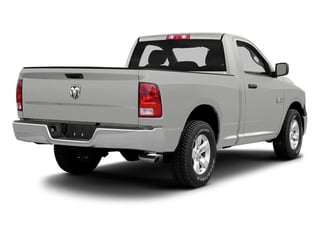 Bright Silver Metallic 2013 Ram Truck 1500 Pictures 1500 Regular Cab HFE 2WD photos rear view