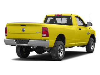 Yellow 2013 Ram 2500 Pictures 2500 Regular Cab SLT 2WD photos rear view