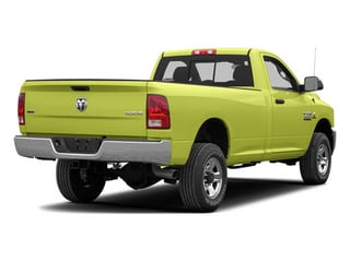 National Fire Safety Lime Yellow 2013 Ram 2500 Pictures 2500 Regular Cab SLT 2WD photos rear view