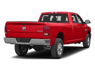 Bright Red 2013 Ram Truck 3500 Pictures 3500 Crew Cab SLT 4WD photos rear view