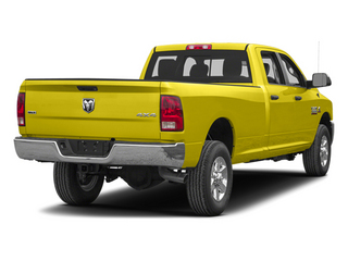 Yellow 2013 Ram Truck 3500 Pictures 3500 Crew Cab SLT 4WD photos rear view