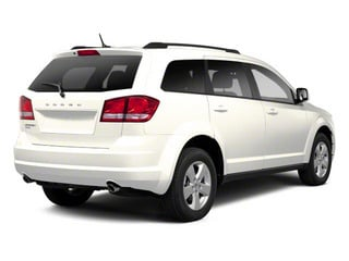 Pearl White Tri-coat 2013 Dodge Journey Pictures Journey Utility 4D Crew AWD photos rear view