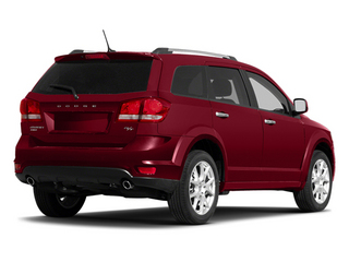 Brilliant Red Tri-coat Pearl 2013 Dodge Journey Pictures Journey Utility 4D R/T AWD photos rear view