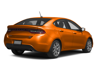 Header Orange 2013 Dodge Dart Pictures Dart Sedan 4D GT I4 photos rear view