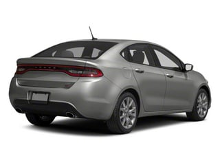 Bright Silver Metallic 2013 Dodge Dart Pictures Dart Sedan 4D Aero I4 Turbo photos rear view