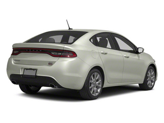 Bright White 2013 Dodge Dart Pictures Dart Sedan 4D Aero I4 Turbo photos rear view