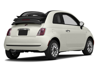 Gucci White 2013 FIAT 500 Pictures 500 Convertible 2D Lounge I4 photos rear view