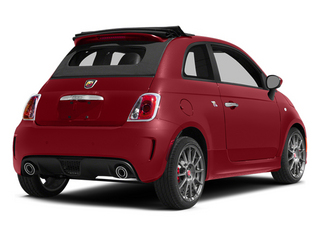 Rosso (Red) 2013 FIAT 500 Pictures 500 Convertible 2D Abarth I4 photos rear view