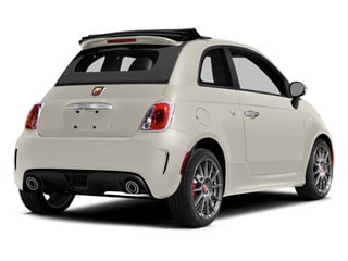 Bianco (White) 2013 FIAT 500 Pictures 500 Convertible 2D Abarth I4 photos rear view