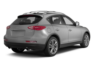 Liquid Platinum Metallic 2013 INFINITI EX37 Pictures EX37 Wagon 4D 2WD V6 photos rear view
