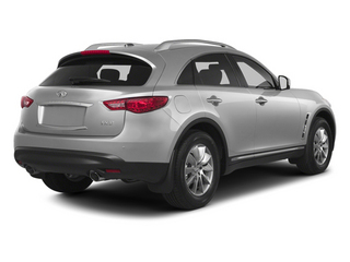 Liquid Platinum 2013 INFINITI FX50 Pictures FX50 Utility 4D FX50 AWD V8 photos rear view