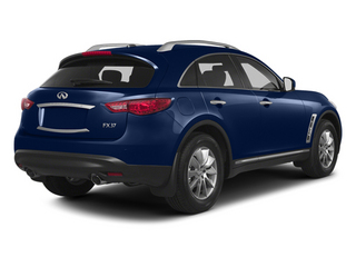 Iridium Blue 2013 INFINITI FX50 Pictures FX50 Utility 4D FX50 AWD V8 photos rear view