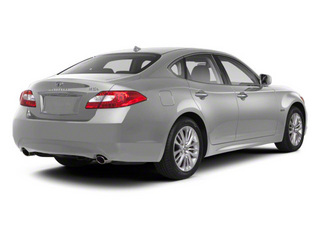 Liquid Platinum 2013 INFINITI M35h Pictures M35h Sedan 4D V6 Hybrid photos rear view
