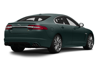 British Racing Green 2013 Jaguar XF Pictures XF Sedan 4D XFR Supercharged Speed photos rear view