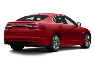 Italian Racing Red 2013 Jaguar XF Pictures XF Sedan 4D XFR-S V8 Supercharged photos rear view